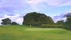 5th Hole: View back from The Green
